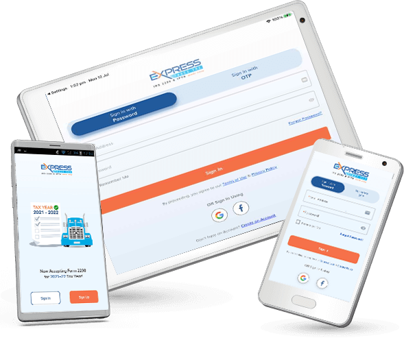 E-File 2290 ExpressTruckTax Mobile App