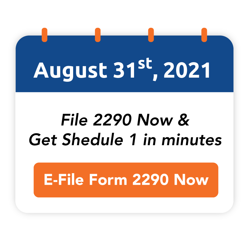 Form 2290 Due Date