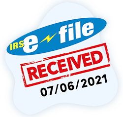 IRS E-file watermarked 2290 Schedule 1
